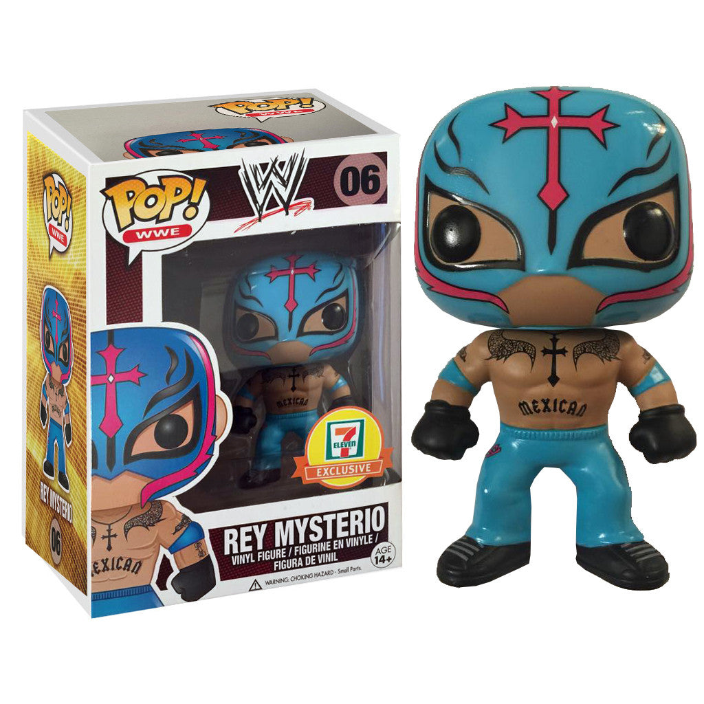 WWE Pop! Vinyl Figure Rey Mysterio [7-11 Exclusive] - Fugitive Toys