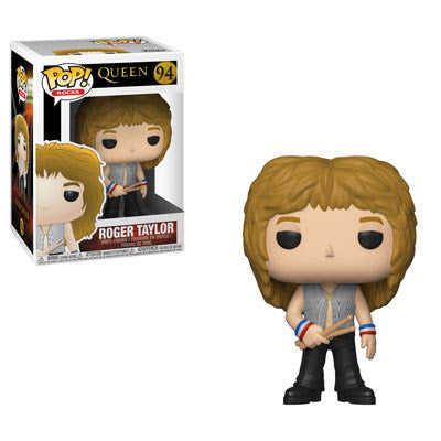 Rocks Pop! Vinyl Figure Freddie Roger Taylor [Queen] [94]