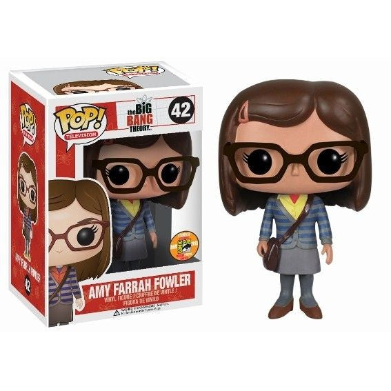 The Big Bang Theory Pop! Vinyl Figure Amy Farrah Fowler Variant Outfit [SDCC 2013 Exclusive]
