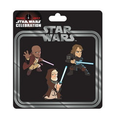 Star Wars Celebration Jedi Pin 3-Pack - Fugitive Toys