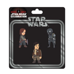 Star Wars Celebration Rogue One Pin 3-Pack - Fugitive Toys