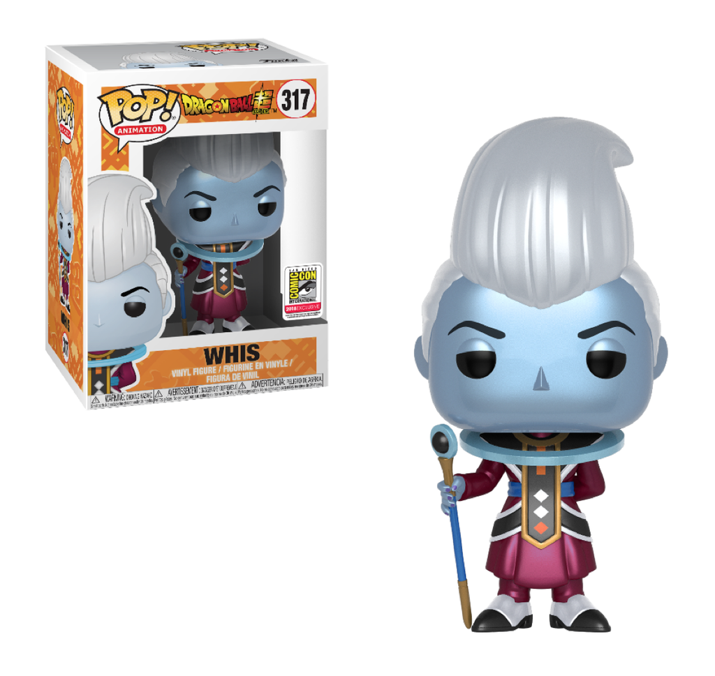 Dragonball Z Pop! Vinyl Figure Metallic Whis [SDCC 2018 Exclusive] [317]