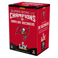 Panini NFL Super Bowl LV Champions Tampa Bay Buccaneers Trading Card Box - Fugitive Toys