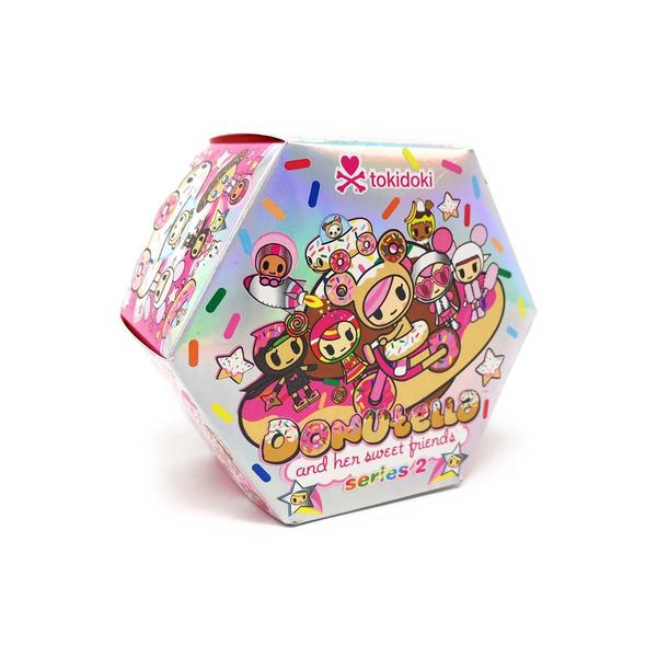 Tokidoki Donutella and Her Sweet Friends Series 2 Mini Figures: (1 Blind Box)