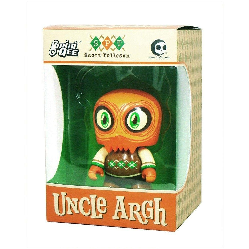 "Toy2R Uncle Argh 5"" Mini Qee by Scott Tolleson"