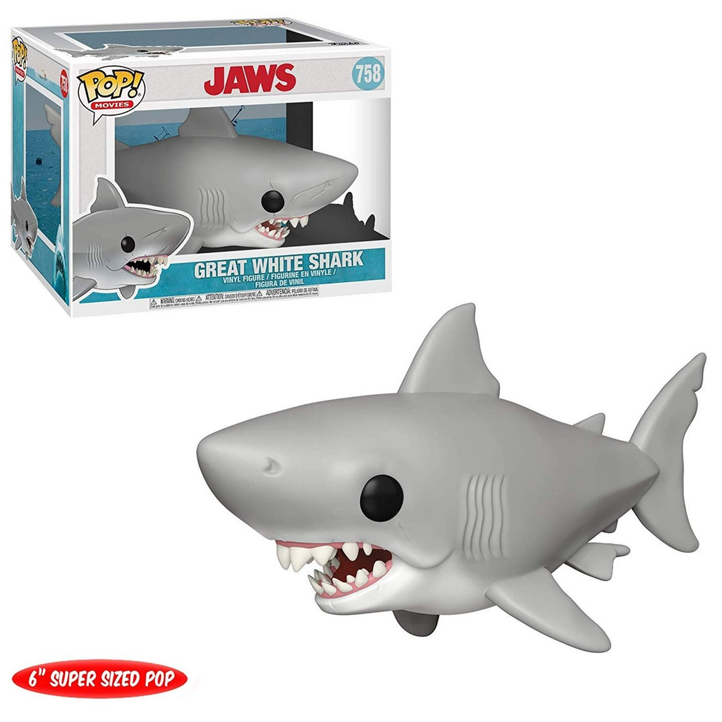 Jaws Pop! Vinyl Figure Great White Shark [6-Inch] [758]