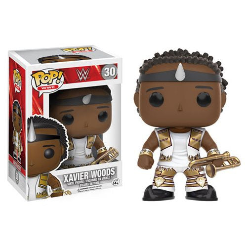 WWE Pop! Vinyl Figure Xavier Woods [New Day] - Fugitive Toys