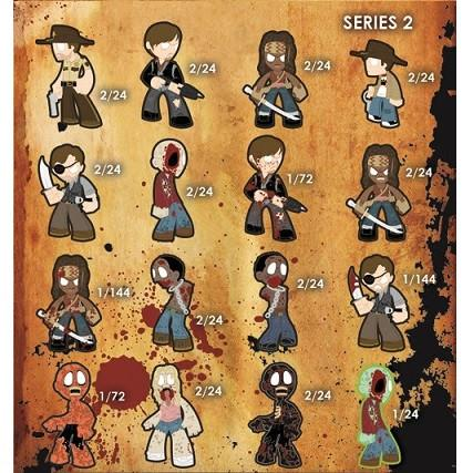 The Walking Dead Mystery Minis Series 2: (1 Blind Box)