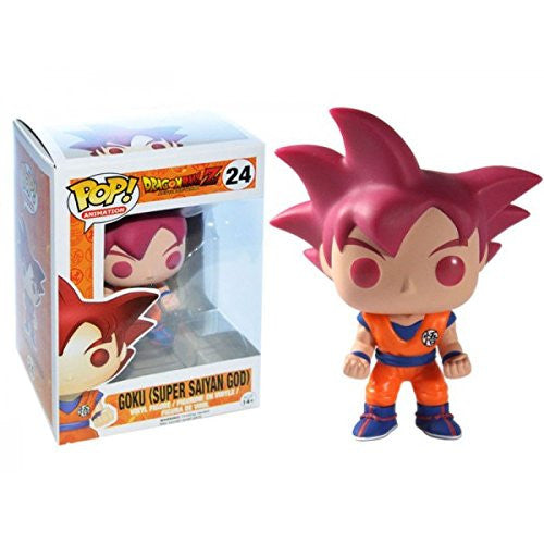 Dragon Ball Z Pop! Vinyl Figure Super Saiyan God Goku [Exclusive] [24]