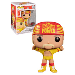 WWE Pop! Vinyl Figure Hulk Hogan Wrestlemania Ripped Shirt [71]