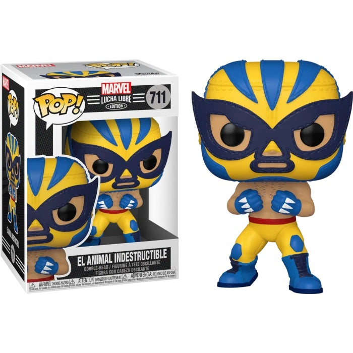 Marvel Lucha Libre Pop! Vinyl Figure El Animal Indestructible [711]