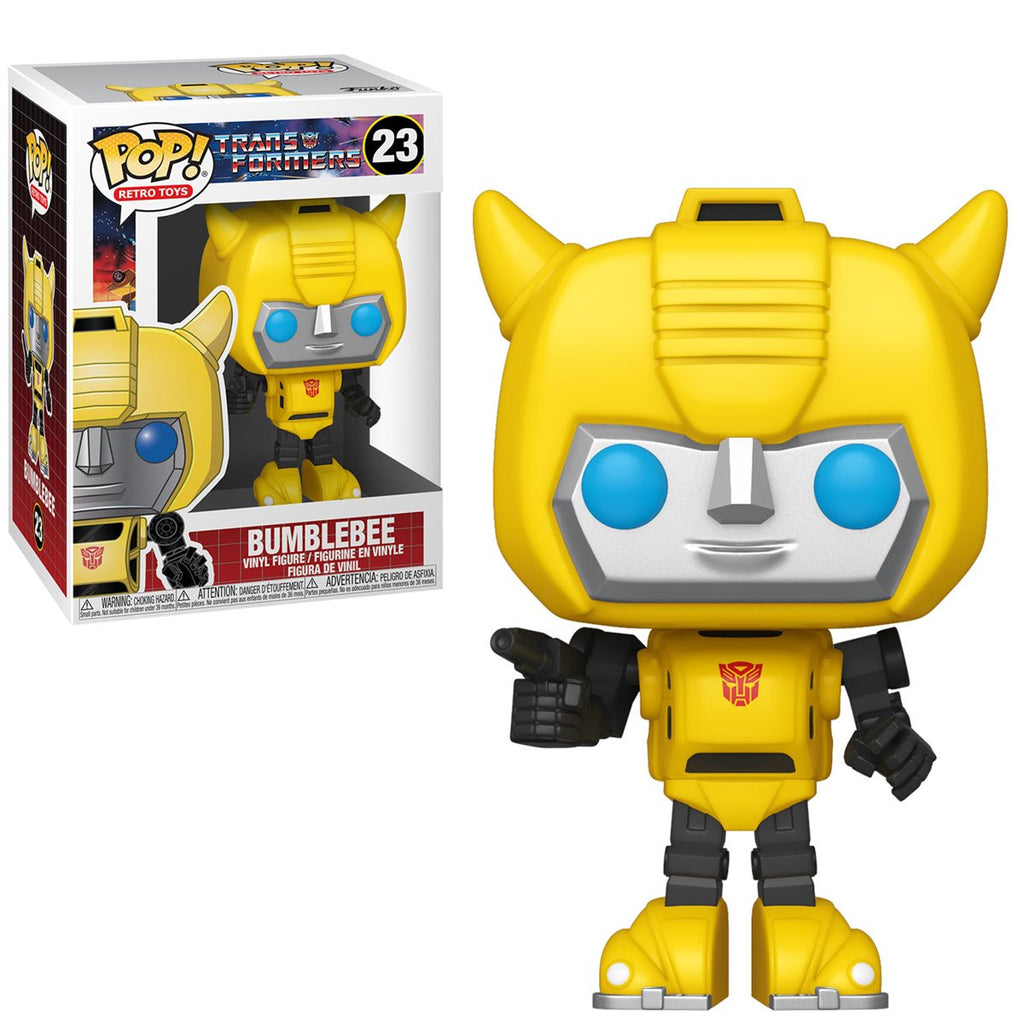 Transformers Retro Toys Pop! Vinyl Figure Bumblebee [23]