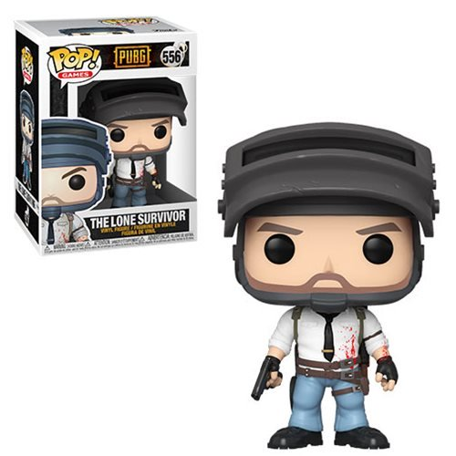 PUBG Pop! Vinyl Figure The Lone Survivor [556] - Fugitive Toys