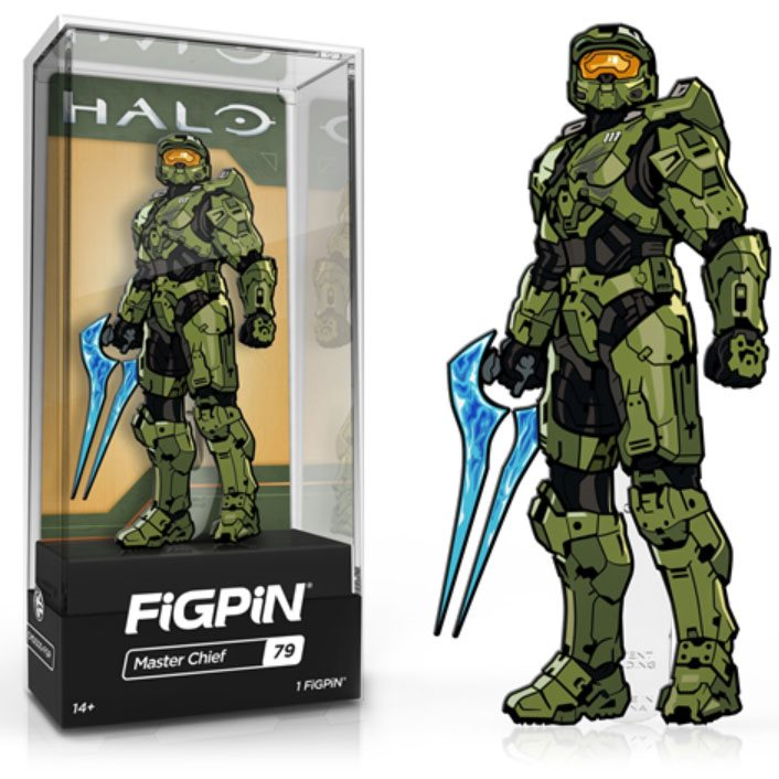 Halo: FiGPiN Enamel Pin Master Chief with Energy Sword [79]