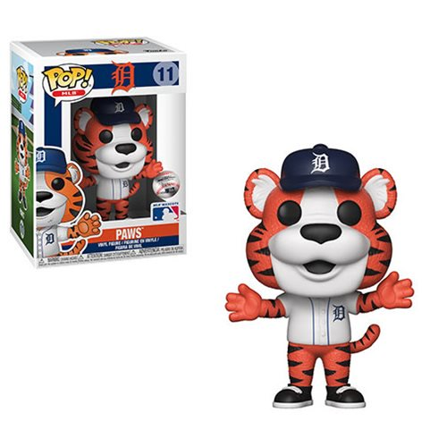 MLB Mascots Pop! Vinyl Figure Paws [Detroit Tigers] [11]