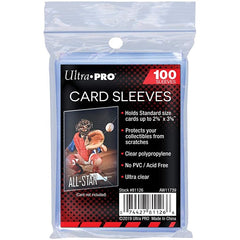 Ultra Pro Soft Card Sleeves (100 Pieces)