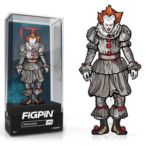 IT Chapter Two: FiGPiN Enamel Pin Pennywise [215] - Fugitive Toys