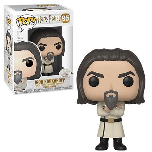 Harry Potter Pop! Vinyl Figure Igor Karkaroff Yule Ball [95] - Fugitive Toys