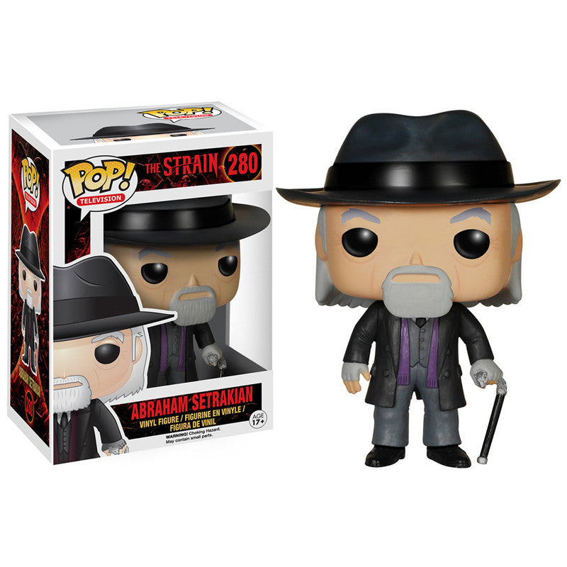 The Strain Pop! Vinyl Figure Abraham Setrakian - Fugitive Toys
