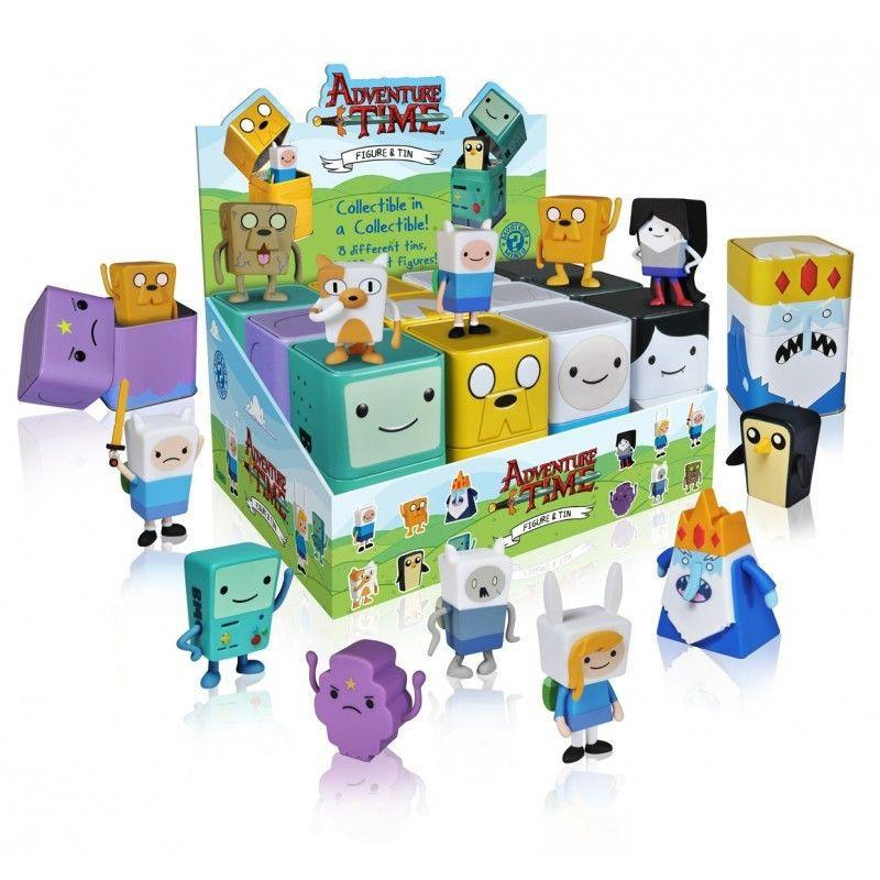 Adventure Time Figural Tin Mystery Minis (Case of 12)