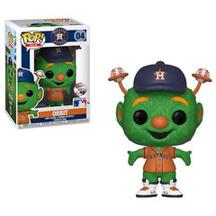 MLB Mascots Pop! Vinyl Figure Orbit (Orange) [Houston Astros] [04] - Fugitive Toys