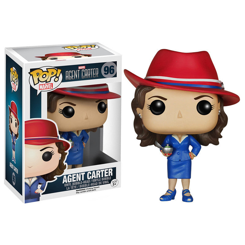 Marvel Pop! Vinyl Bobblehead Agent Carter - Fugitive Toys