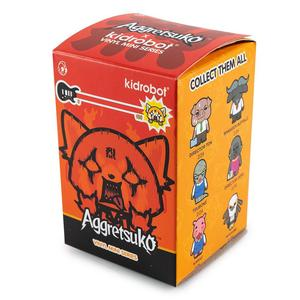 Kidrobot x Sanrio Aggretsuko Vinyl Mini Series: (1 Blind Box)