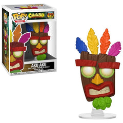 Crash Bandicoot Pop! Vinyl Figure Aku Aku [420]