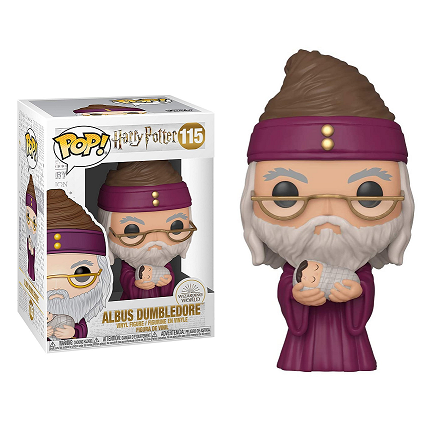 Harry Potter Pop! Vinyl Figure Albus Dumbledore (With Baby Harry) [115]