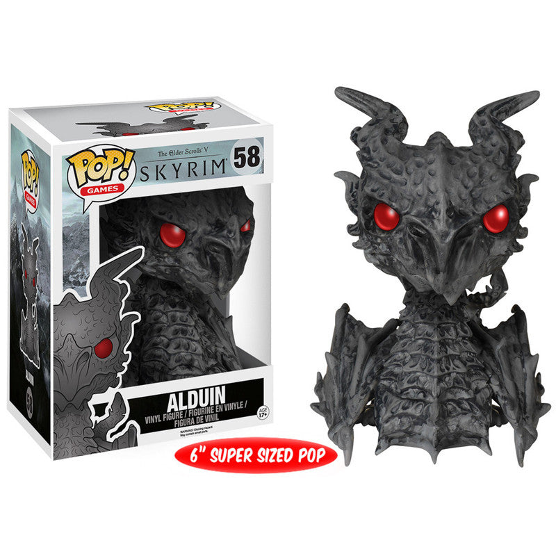 The Elder Scrolls Skyrim Pop! Vinyl Figure Alduin [6-Inch]
