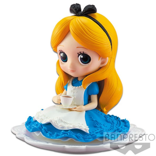 Disney Q Posket Alice in Wonderland Sugirly (Blue Dress)
