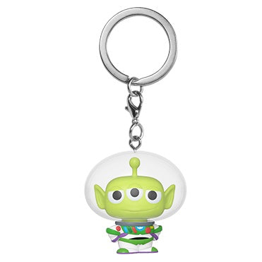 Disney Pixar Pocket Pop! Keychain Alien Remix Buzz - Fugitive Toys