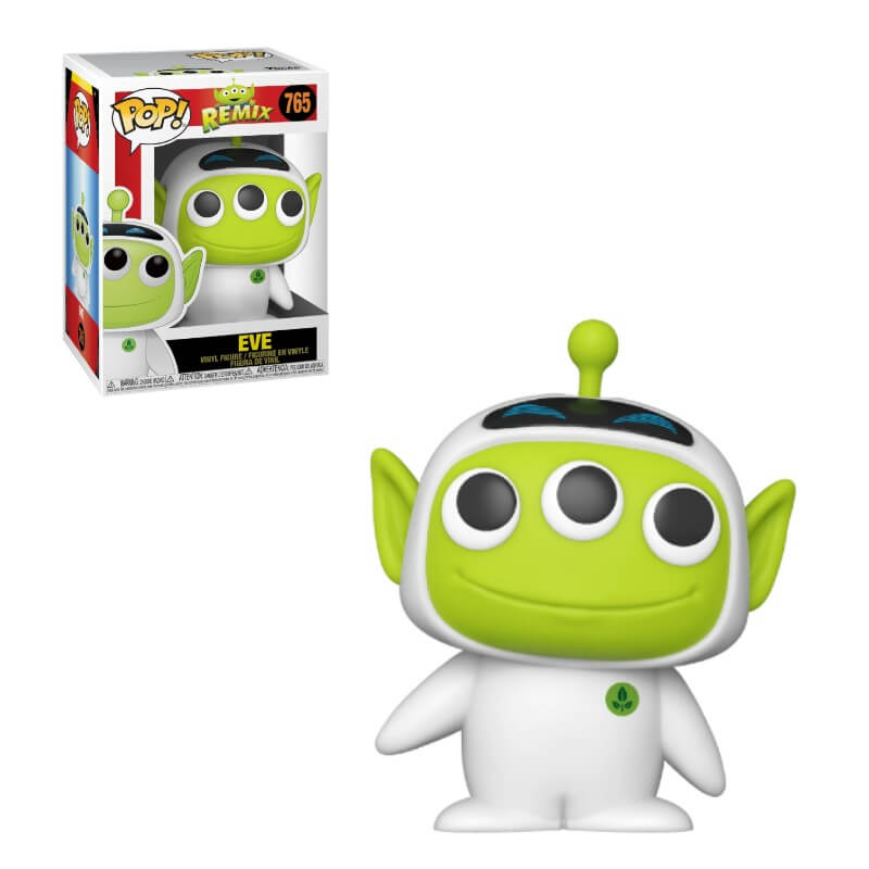 Disney Pixar Alien Remix Pop! Vinyl Figure Eve [765]