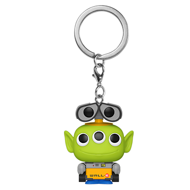 Disney Pixar Pocket Pop! Keychain Alien Remix Wall-E - Fugitive Toys