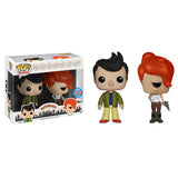 Futurama Pop! Vinyl Figure Alternate Universe Fry & Leela [NYCC 2015 Exclusive]