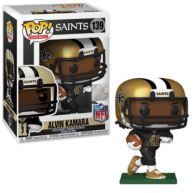 NFL Pop! Vinyl New Orleans Saints Alvin Kamara [139]