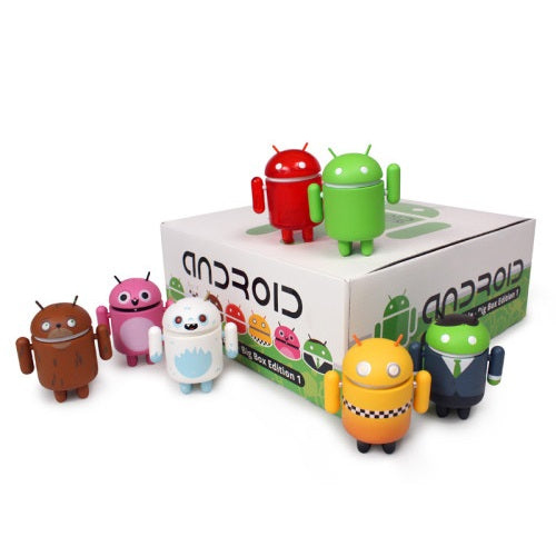 Android Big Box Edition Series 1: (Case of 12)