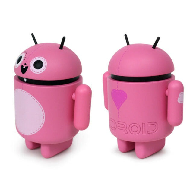 Android Mini Collectible Big Box Edition Vinyl Figure [Pink] - Fugitive Toys