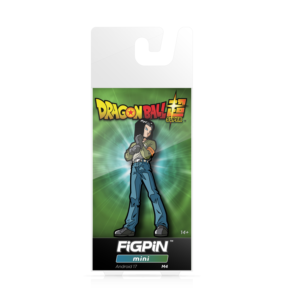 Dragon Ball Super: FiGPiN Mini Enamel Pin Android 17 [M4]