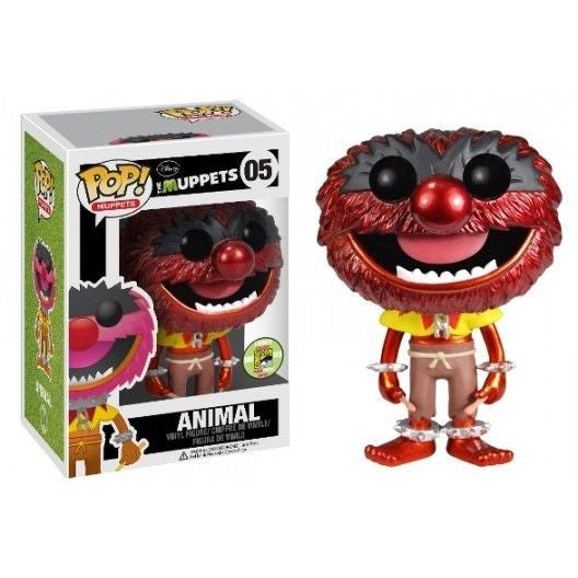 The Muppets Pop! Vinyl Figure Metallic Animal [SDCC 2013 Exclusive]