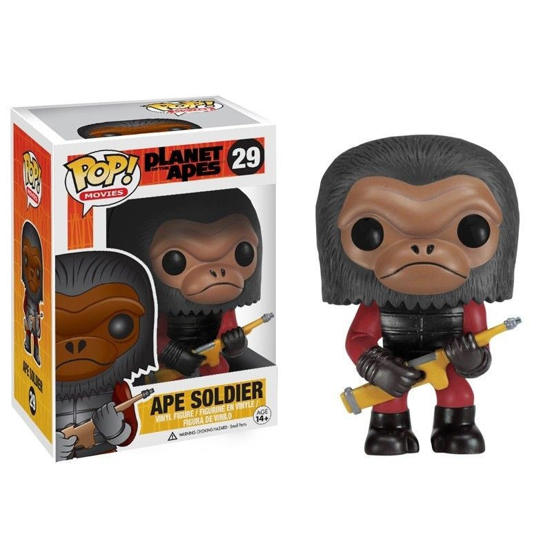 Movies Pop! Vinyl Figure Ape Soldier [Planet of the Apes]
