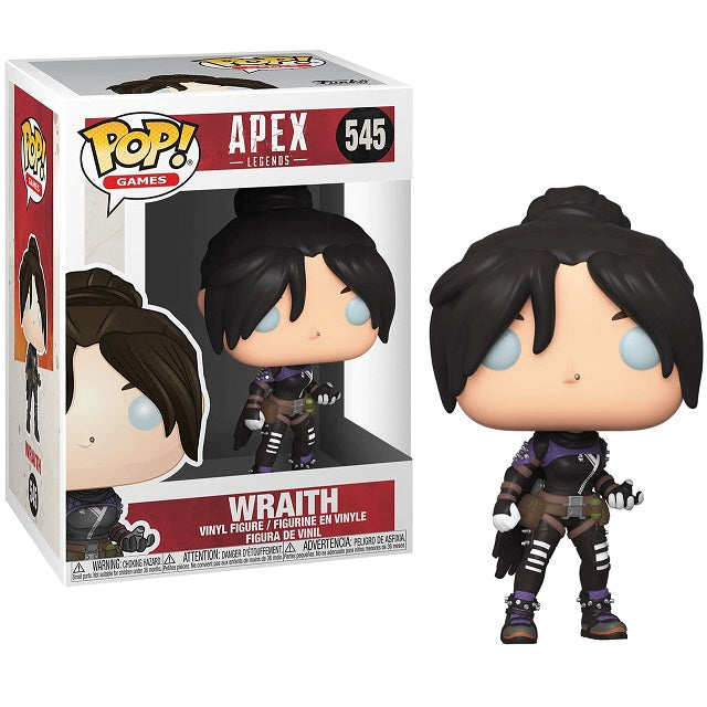 Apex Legends Pop! Vinyl Figure Wraith [545] - Fugitive Toys