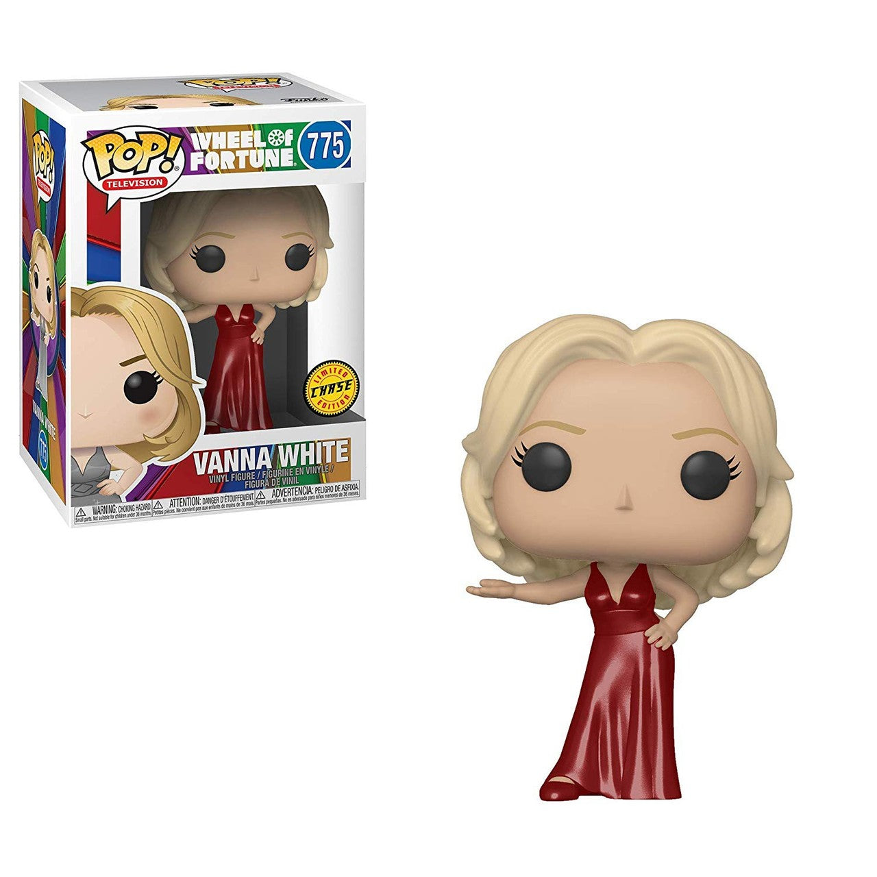 Wheel of Fortune Pop! Vinyl Figure Vanna White (Chase) [775] - Fugitive Toys