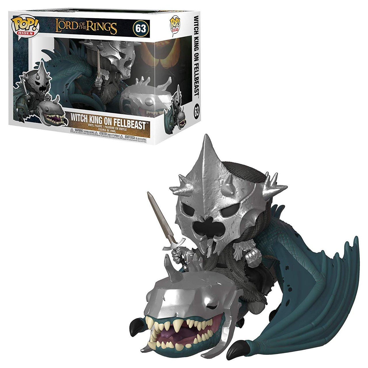 Lord of the Rings Pop! Rides Witch King with Fellbeast [63] - Fugitive Toys
