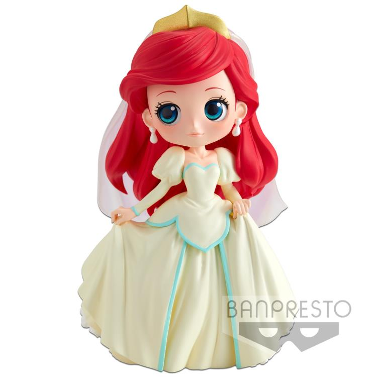 Disney Q Posket Ariel Dreamy Style (Cream Dress)