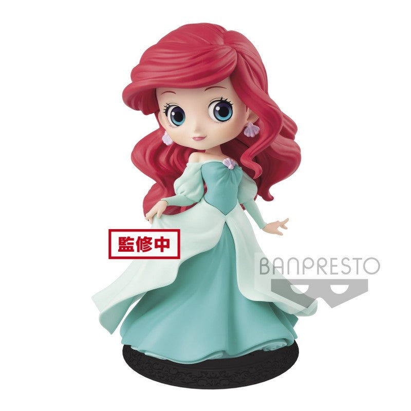 Disney Q Posket Ariel Princess Dress [Green]