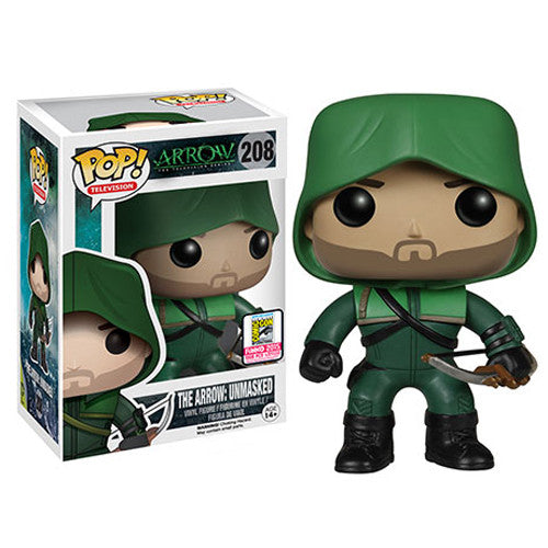Arrow The Television Series Pop! Vinyl Figure Unmasked Arrow [SDCC 2015 Exclusive] - Fugitive Toys
