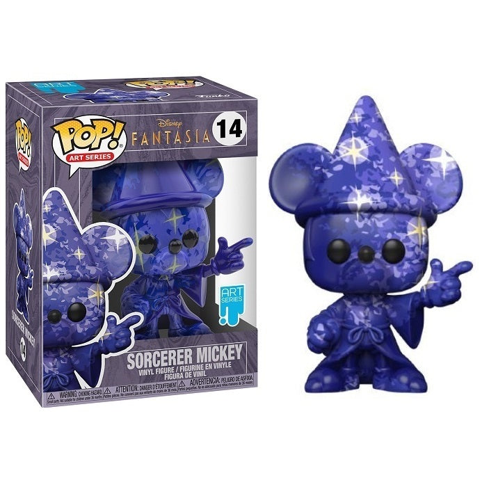 Disney Art Series Pop! Vinyl Figure Sorcerer Mickey w/Case (Starry Sky) [14]