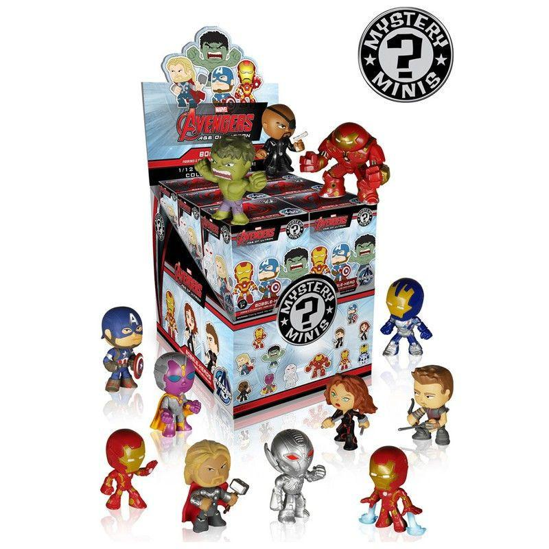 Marvel Avengers: Age of Ultron Mystery Minis: (Case of 12)