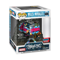 Marvel Street Art Collection Pop! Deluxe Vinyl Figure Miles Morales (2020 Fall Convention) [686]